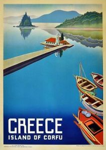 Reproduction-Vintage-Seaside-Poster-Greece-Home-Wall-Art